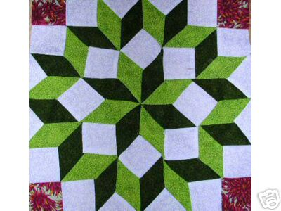 Bow Tie Quilt Pattern - Easy Quilt Pattern Using Only 5 Pieces